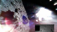 Dos rover japoneses aterrizan con éxito en un asteroide y sacan las primeras fotos
