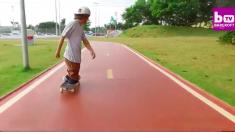 Este chico brasileño sin piernas lo da todo para lograr su sueño de ser un skater profesional