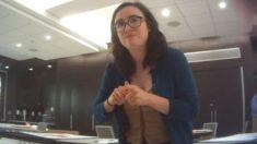 Activista socialista expuesta en video del Proyecto Veritas deja el Departamento de Justicia