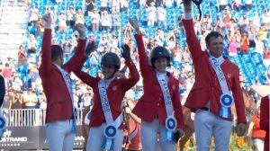 EE. UU. se proclama ganadora de saltos por equipos en Juegos Ecuestres Mundiales