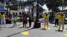 El centro histórico de Lima se convierte en el sitio ideal para la enseñanza de una antigua práctica de meditación china