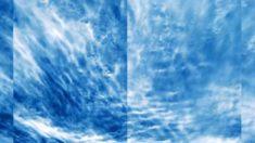 En impactante video NASA capta por primera vez las nubes más alejadas de la Tierra: las eléctricas azules