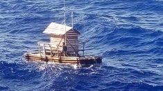 Su ingenio y la oración lo mantienen vivo 48 días en alta mar sobre una trampa de madera de pesca