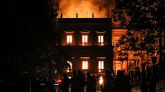 Incendio en Museo de Brasil consume 20 millones de piezas invaluables para la humanidad