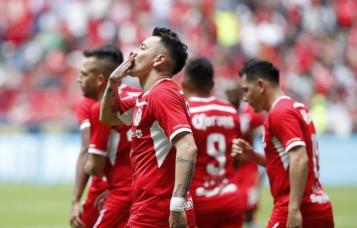 Toluca vence al Veracruz con un gol y dos asistencias del argentino Sambueza El jugador del Toluca Rubens Sambueza. EFE/Archivo