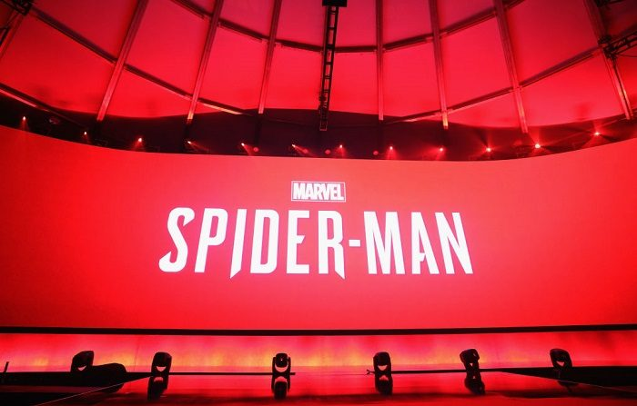 Marvel Spiderman' es presentado durante la conferencia Sony Playstation E3 en LA Center Studios el 11 de junio de 2018 en Los Ángeles, California. (Foto de Christian Petersen/Getty Images)