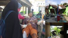 Destructivo terremoto de 7,5 grados azota Indonesia: reportan heridos y derrumbes de edificios