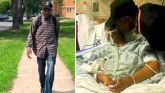 Un hombre de 99 años hace una caminata diaria de 10 kilómetros para visitar a su esposa enferma