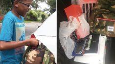 Unos vecinos compran útiles escolares a un niño al saber que lava autos en verano para ganar dinero