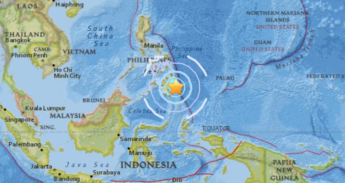 Un terremoto en Filipinas de 6,1 grados sacude el sureste de Davao