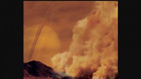 Luna Titán de Saturno parece sufrir de gigantescas tormentas de polvo