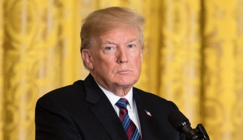 El presidente Donald Trump en la Casa Blanca en Washington el 3 de abril de 2018. (Samira Bouaou/La Gran Época)