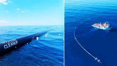Conoce este nuevo invento creado para limpiar el parche de basura plástica en el Océano Pacífico