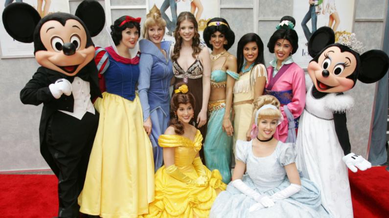 Las princesas de disney estuvieron presentes. Imagen ilustrativa. ( Frazer Harrison/Gettyimages)