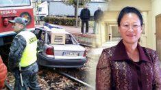 La embistió un tren y arrastró su coche por 1 km pero salió ilesa. ¡Los milagros sí existen!