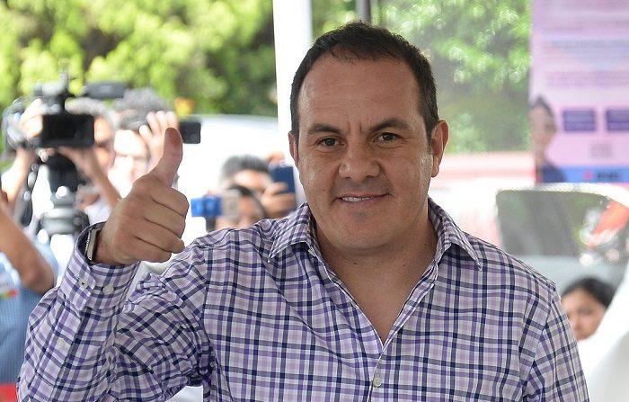 Exfutbolista Cuauhtémoc Blanco, nuevo gobernador del estado mexicano Morelos. El exjugador de fútbol Cuauhtémoc Blanco posa para una fotografía. EFE/Archivo