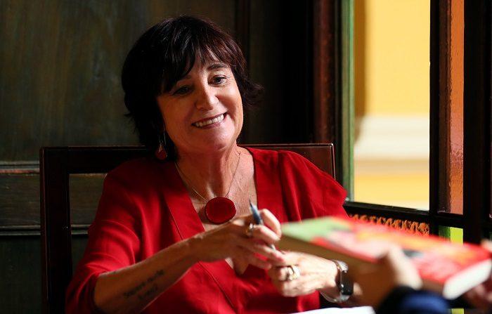 Imagen ilustrativa Madrid celebra la fiesta de la literatura con la X edición del Festival Eñe. Fotografía del 29 de agosto de 2018 de la escritora Rosa Montero durante una entrevista con Efe en Bogotá (Colombia). EFE