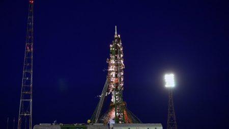 La Soyuz MS-08 aterriza con éxito en la estepa kazaja tras 197 días en la EEI