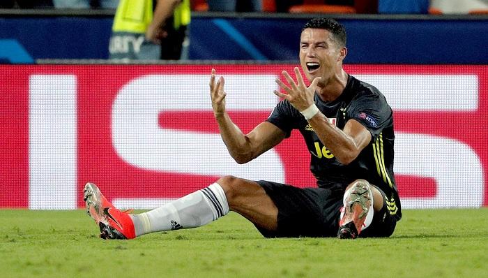 """Nike, """"profundamente preocupada"""" por las acusaciones contra Cristiano Ronaldo El delantero portugués de la Juventus, Cristiano Ronaldo. EFE/Archivo"""