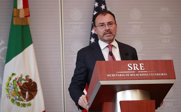 Canciller mexicano viaja a EEUU para participar en encuentro sobre seguridad
