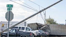 Miles de hogares sin electricidad, fuertes vientos y riesgo de incendios