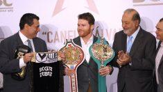 El boxeador mexicano