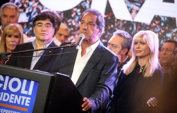 Daniel Scioli, expresidente y excandidato a la presidencia de Argentina por el partido Frente para la Victoria. EFE/Archivo