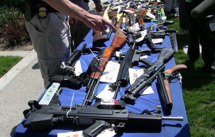 La mayor pandilla del condado de Riverside, en California, fue desmantelada con 45 arrestos y el decomiso de 63 armas de fuego, según anunciaron hoy las autoridades. EFE/Archivo