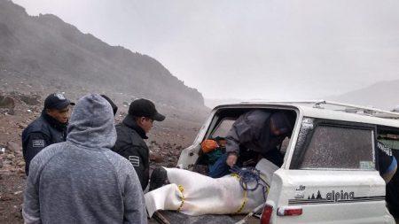 Mueren tres alpinistas mexicanos en el volcán Pico de Orizaba