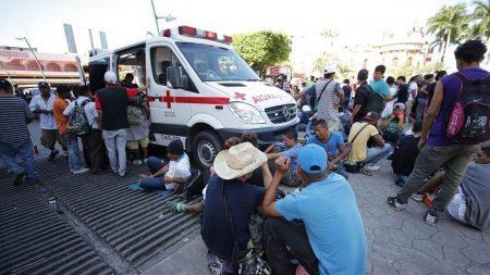 Refugio para migrantes registra a 7.125 personas en frontera sur de México