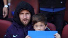 Messi vuelve a entrenarse once días después de su lesión