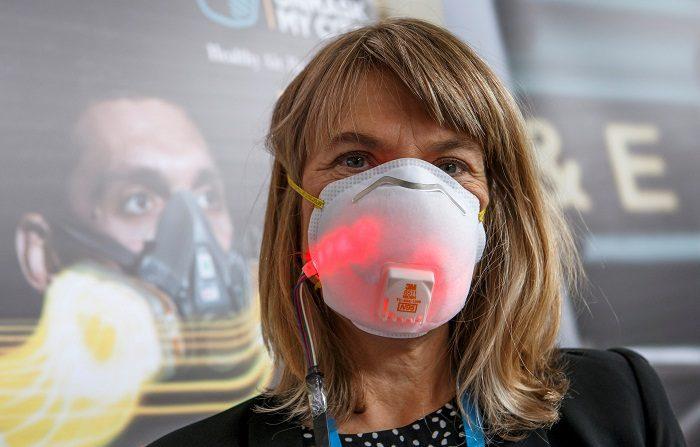 Contaminación del Aire y la Salud en la sede de la OMS en Ginebra (Suiza) hoy, 30 de octubre de 2018. EFE/ Salvatore Di Nolfi