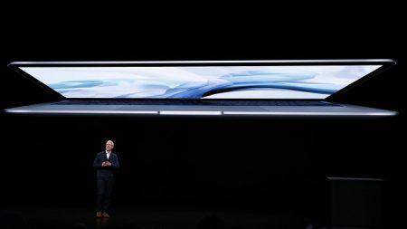 Apple anuncia nuevo MacBook Air con pantalla retina y de aluminio reciclado