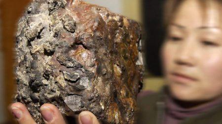 Cae meteorito en el techo de una casa en Japón y resulta que tiene 4.600 millones de años