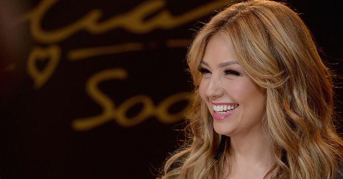 La cantante mexicana Thalía. Foto de Gustavo Caballero/Getty Images
