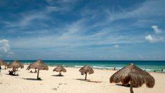 Michael expulsa el sargazo de Cancún y lo envía a otras playas