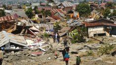 La esperanza motoriza las tareas de rescate en Palu tras brutal terremoto y tsunami