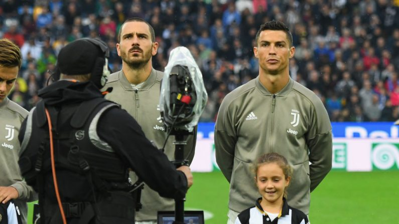 """El abogado de Cristiano dice que los documentos sobre la violación son """"invenciones"""" El delantero portugués del Juventus, Cristiano Ronaldo. (Photo by Alessandro Sabattini/Getty Images)"""