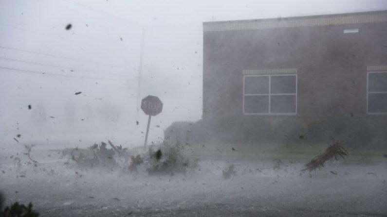 PANAMA, Forida el 10 de octubre de 2018 ante la llegada del Huracán Michael Raedle/Getty Images)