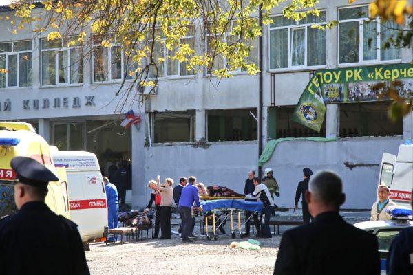 Terror en una escuela en Crimea: diez muertos