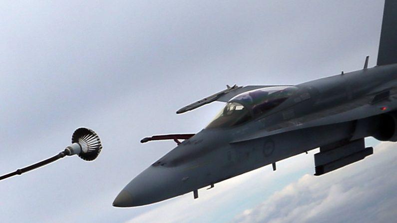 F-35 Lightning ll,, de los cuales de los reactores que recibió la Real Fuerza Aérea Australiana a fines de 2014. (Foto de Michael Dodge/Getty Images)