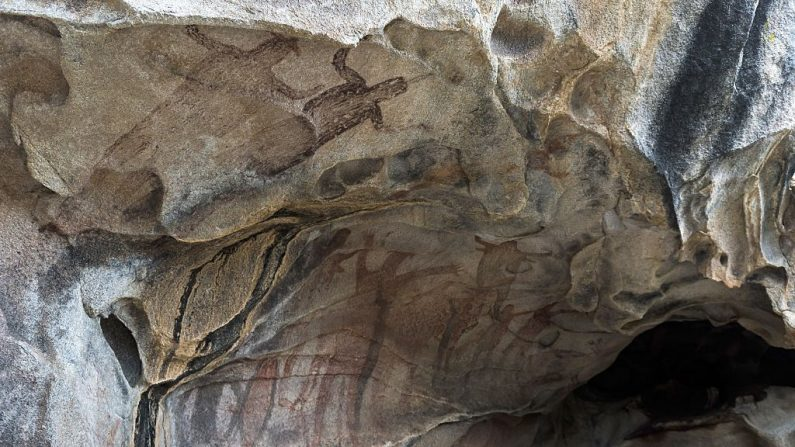 Cueva de Baja California. Imagen de archivo. (OMAR TORRES/AFP/Getty Images)