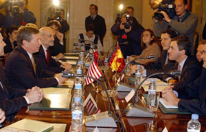 Imagen de contexto sobre reunión que se adelantará entre EE.UU. y España (Foto de Carlos Alvarez/Getty Images)