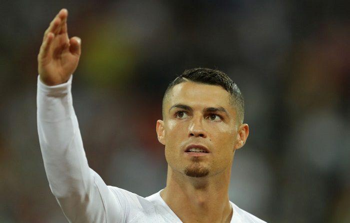 Cristiano Ronaldo de Portugal durante el partido de final de la Copa Mundial de la FIFA Rusia 2018 entre Uruguay y Portugal en el Estadio Fisht el 30 de junio de 2018 en Sochi, Rusia. (Foto de Richard Heathcote/Getty Images)