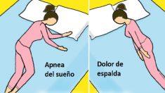 Estas 6 posiciones para dormir desvelan tu tipo de personalidad y también afectan tu salud
