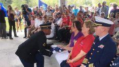 200 personas asisten al funeral de 4 veteranos que nunca conocieron y los honran como héroes