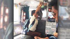 La actitud de un conductor hacia un niño que no tenía para pagar el boleto movió miles de corazones