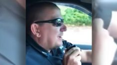 Última llamada por radio de un policía tras 32 años de servicio recibe respuesta sorpresa