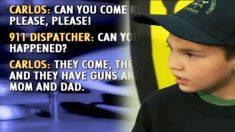 Este valiente niño de 7 años protege a su hermana y salva a sus papás en pleno asalto. ¡Es un héroe!