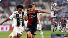 Juventus, pese a gol 400 de Ronaldo, se deja los primeros puntos ante el Génova